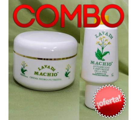 COMBO #1: Tónico, Champú, Antiarrugas y Crema